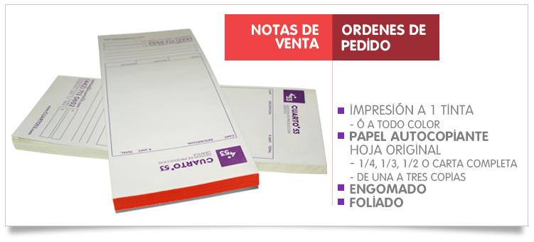Impresión de Notas de Venta, Impresión de Recetas Medicas